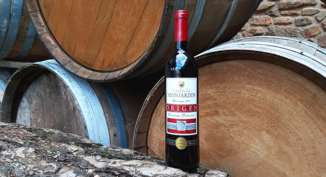crianza red oak wine Castillo Monjardin
