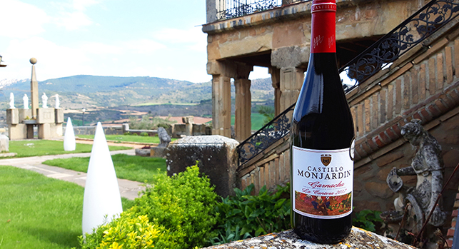 garnacha red wine Castillo Monjardin