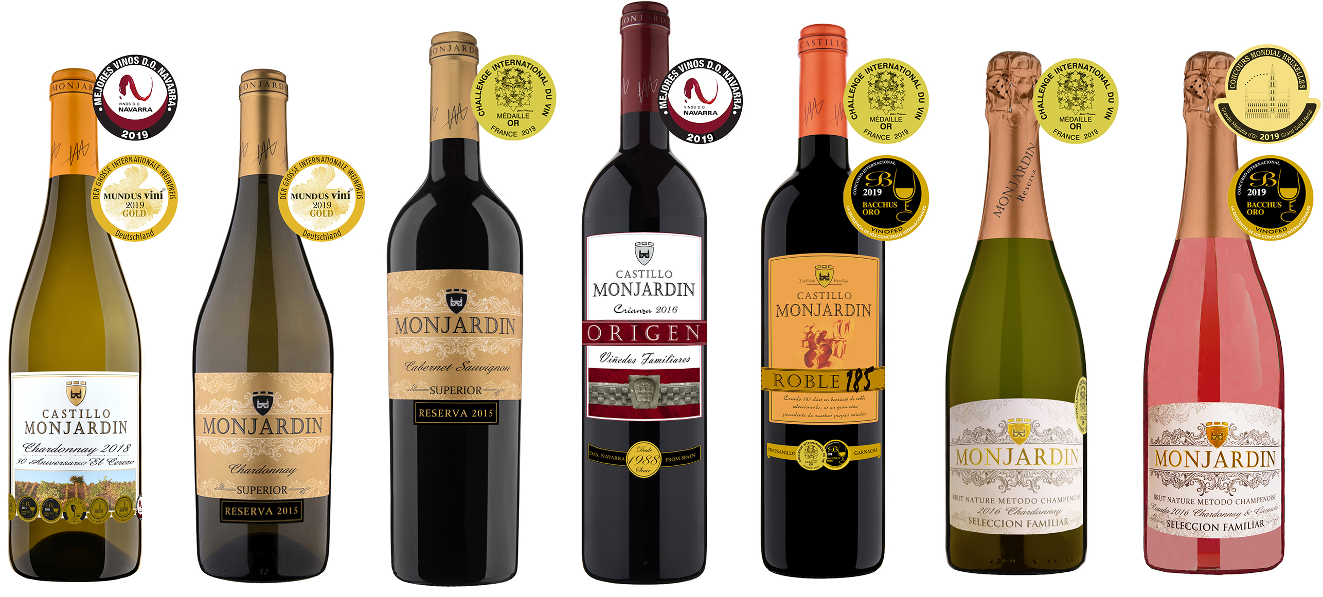 awards gold medals 2019 castillo monjardin